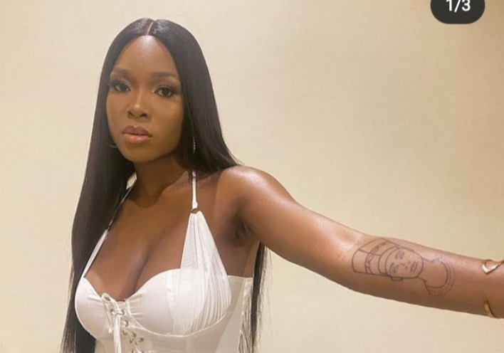 Vee Cut Your Arm With The Tattoo, Fans Charge Her