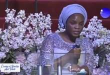 Dare Adeboye's Wife Speaks on The Salvation of Her Husband [Video]