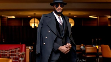 BBNaija Prince in Latest Mafia Suit as The Boss [Photo]