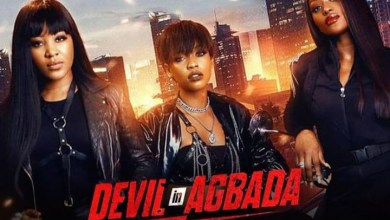 Uche Jombo Hails Erica, as She Surprised Fans in Cinema For Devil in Agbada