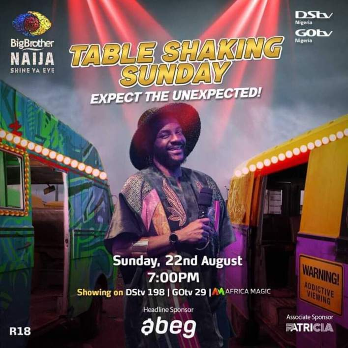 BBNaija Live Streaming of Eviction Show 22 August 2021