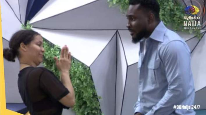 BBNaija Saturday Night Party Pere Ask Maria for a Date, Apologises