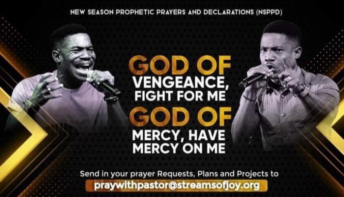 Pastor Jerry Eze 6 August 2021 Prophetic Prayer - Mercy and Vengeance