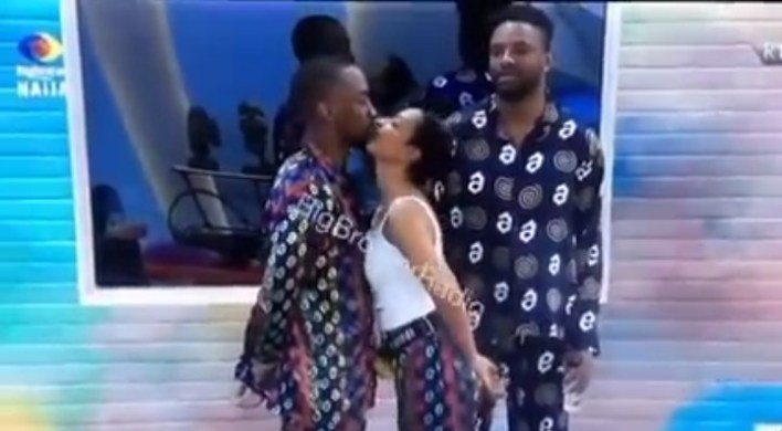 BBNaija Nini Kissed Saga Publicly For the First Time, See Full Video
