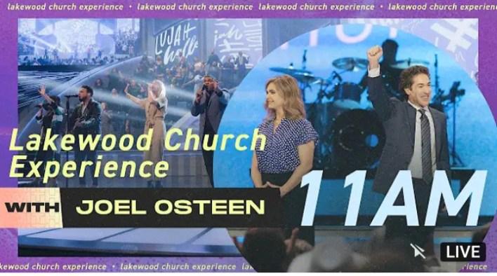 Live Joel Osteen Sunday 11am Service 29 August 2021 |CHURCH|