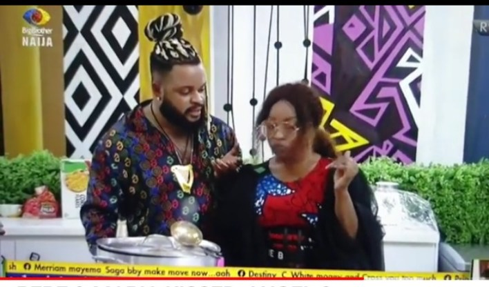 BBNaija Pere Kissed Maria, Boma Knack Angel, Find Out After Party Gists