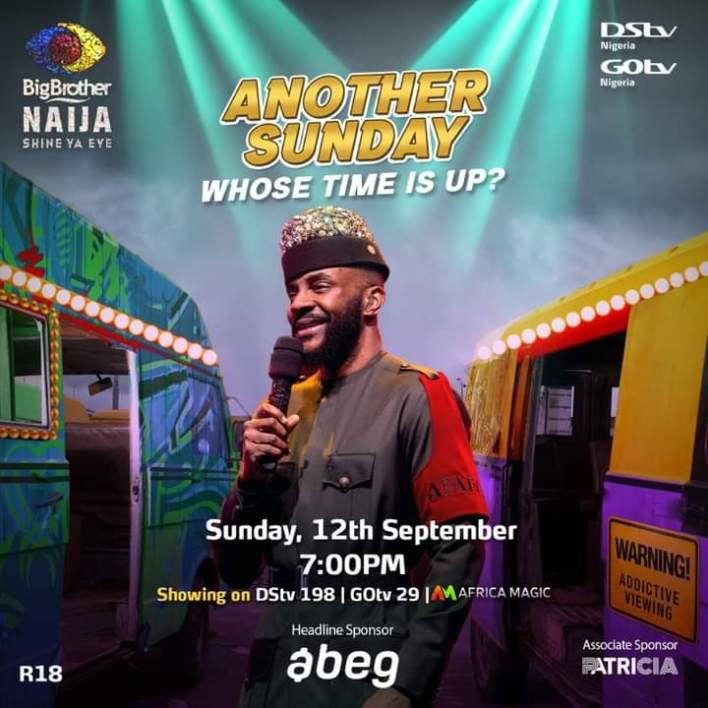 Live BBNaija Eviction Show 12 September 2021 - Ebuka For the Night