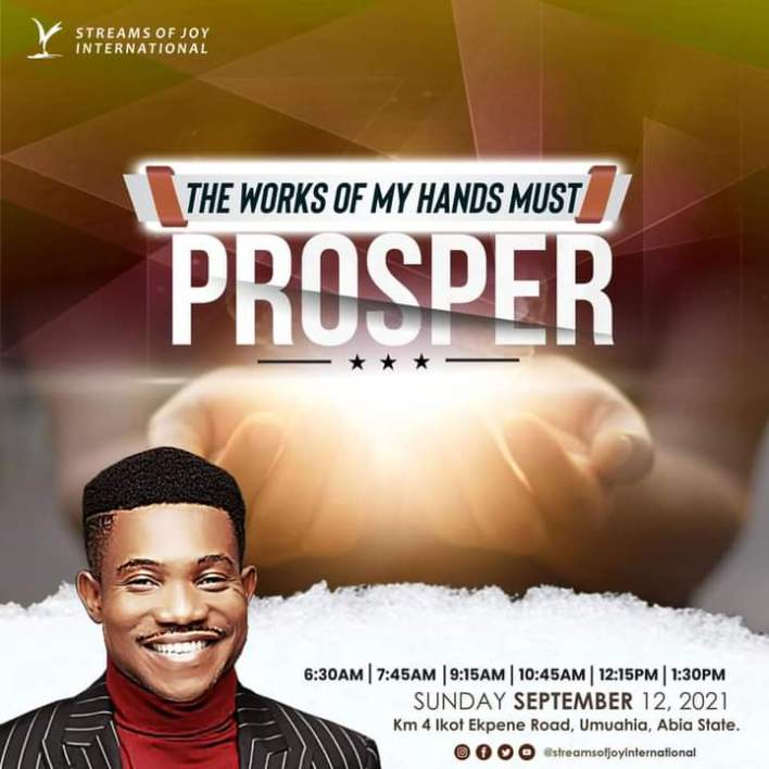 Live Jerry Eze Sunday Service 12 September 2021 - Works of Our Hand
