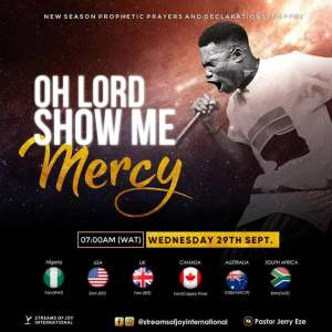 Live NSPPD Prophetic Prayers Jerry Eze 29 September 2021 - Mercy Rain