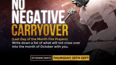 Live NSPPD Jerry Eze Prophetic Prayers 30 September 2021 - No Carryovers
