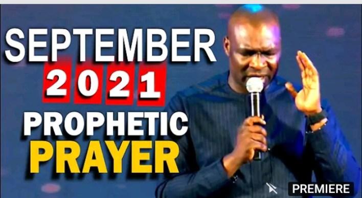 Live Joshua Selman September Prophetic Prayers |WATCH HERE|
