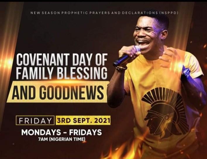 Live NSPPD Jerry Eze Prophetic Prayers 3rd September 2021 @7am