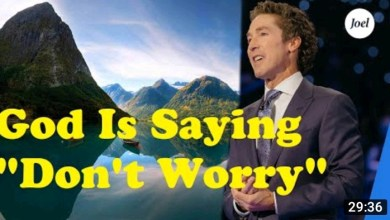 Joel Osteen Daily Inspiration 11 September 2021 |Don't Worry|