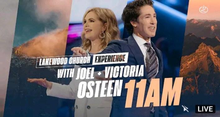 Live Joel Osteen 11am Sunday Service 19 September 2021 - Lakewood