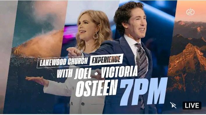 Live Joel Osteen 7pm Sunday Service 12 September 2021 - Lakewood
