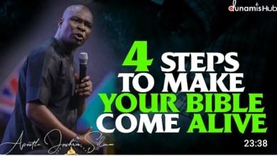 Daily Sermons Joshua Selman 26 September 2021 - Make Your Bible