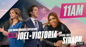 Live Joel Osteen 11am Sunday Service 26 September 2021 With Sinach