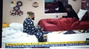 BBNaija Whitemoney and Angel in Deep Conversation About Life
