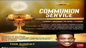 Live Sunday Service Jerry Eze 10 October 2021 - Relationship