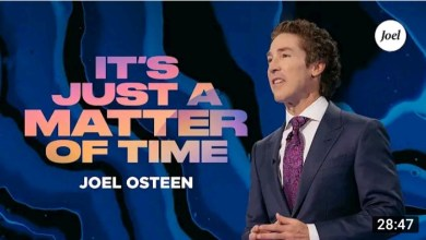 Live Joel Osteen Inspirational Message Today 23 October 2021 - It's Just