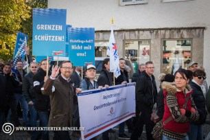 17.10.15 Freilassing - AfD Demonstration Sven Kachelmann Andreas Winhart