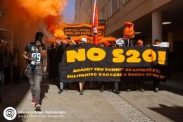 20.09.18 Salzburg - Demo gegen EU Gipfel
