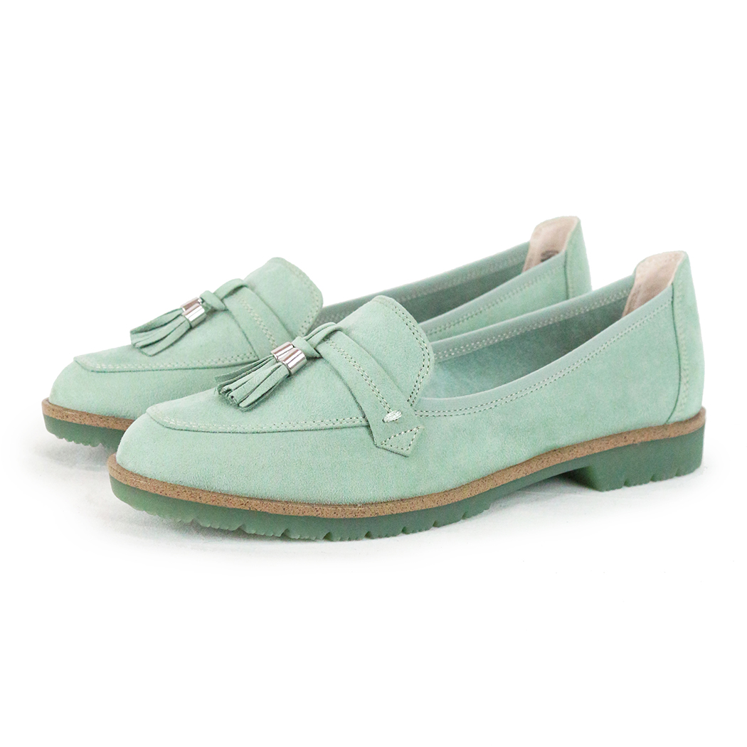 Pantofi Marco Tozzi Verde Mentă