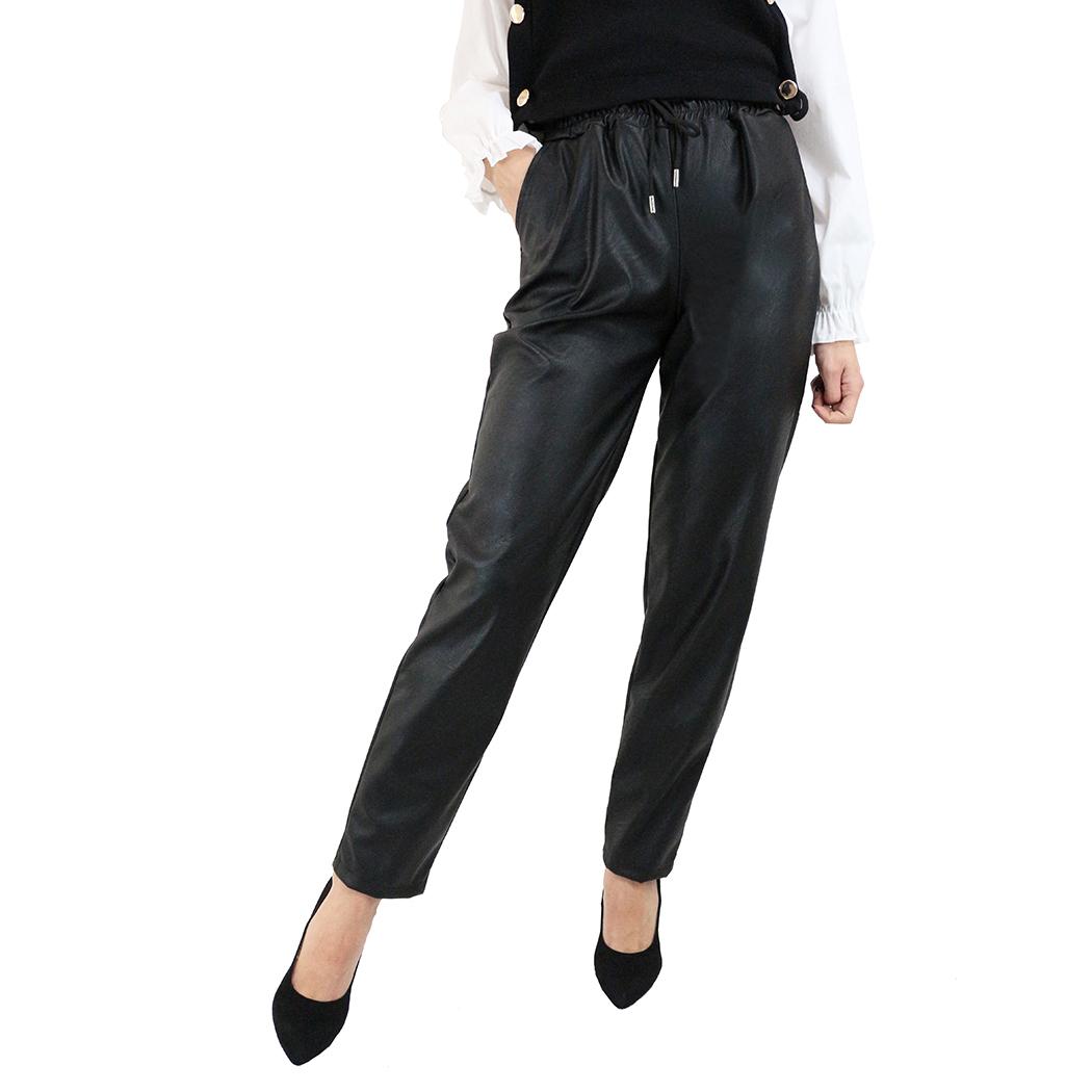 Pantaloni Franco Ferri din Piele