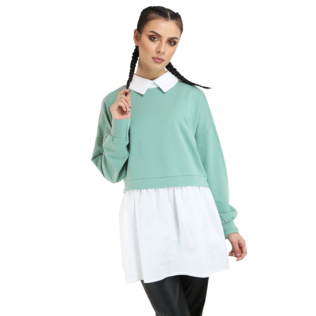 Bluză Franco Ferri Verde