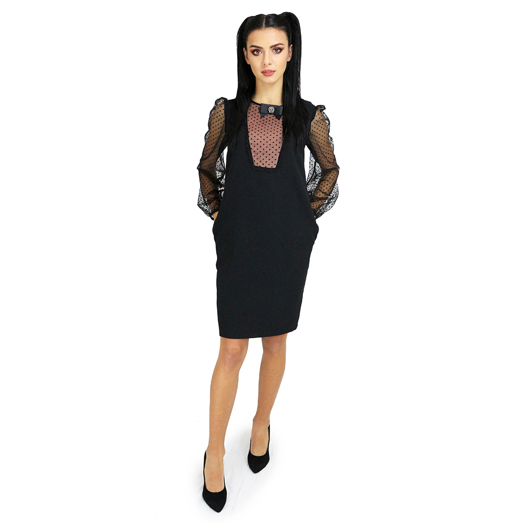 Rochie Caramel Neagră