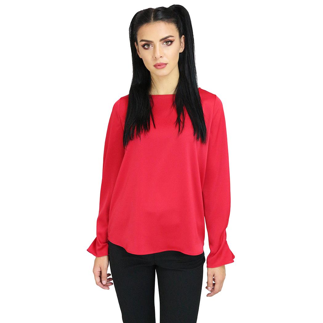 Bluză Caramel Roșie