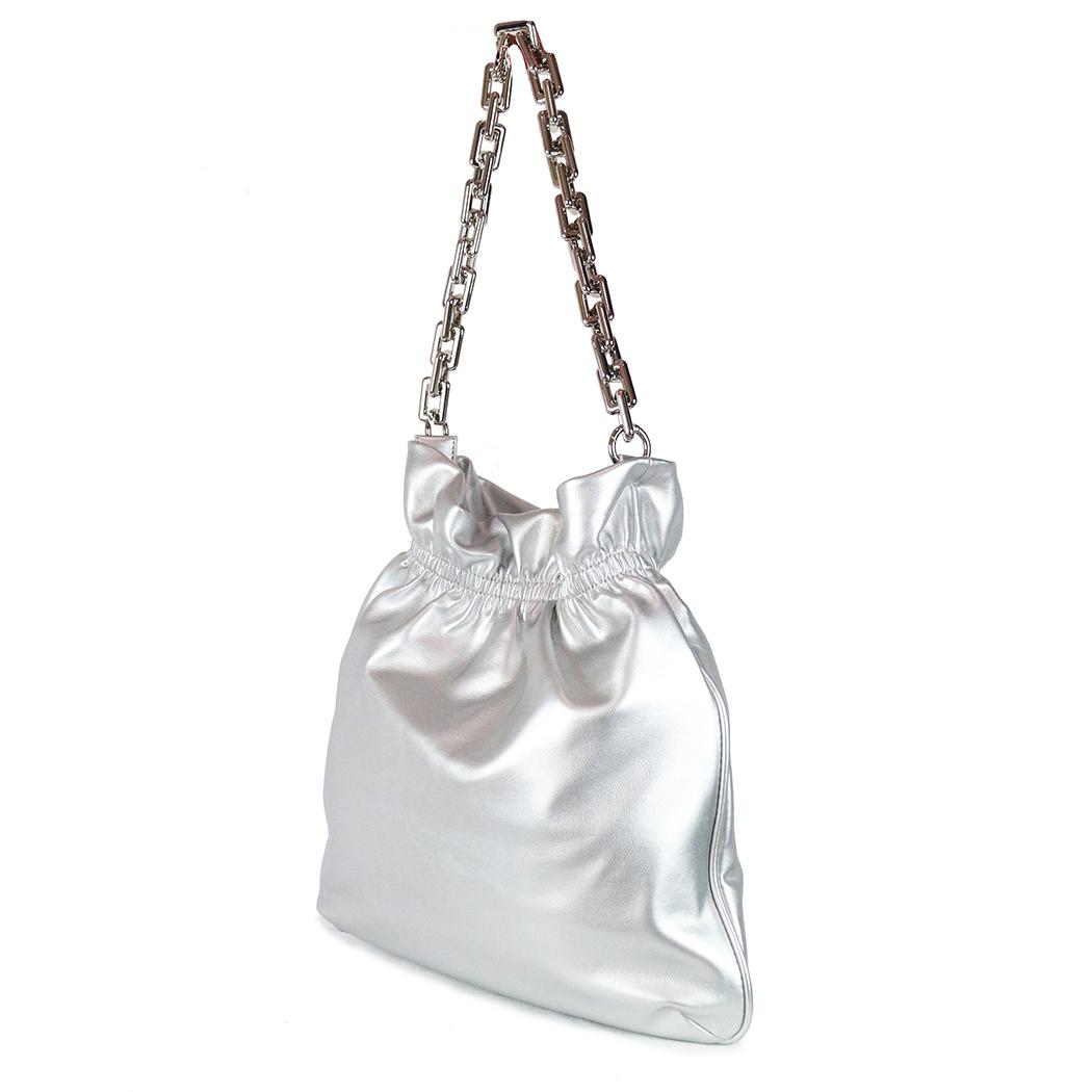 Geantă Franco Ferri Argintie
