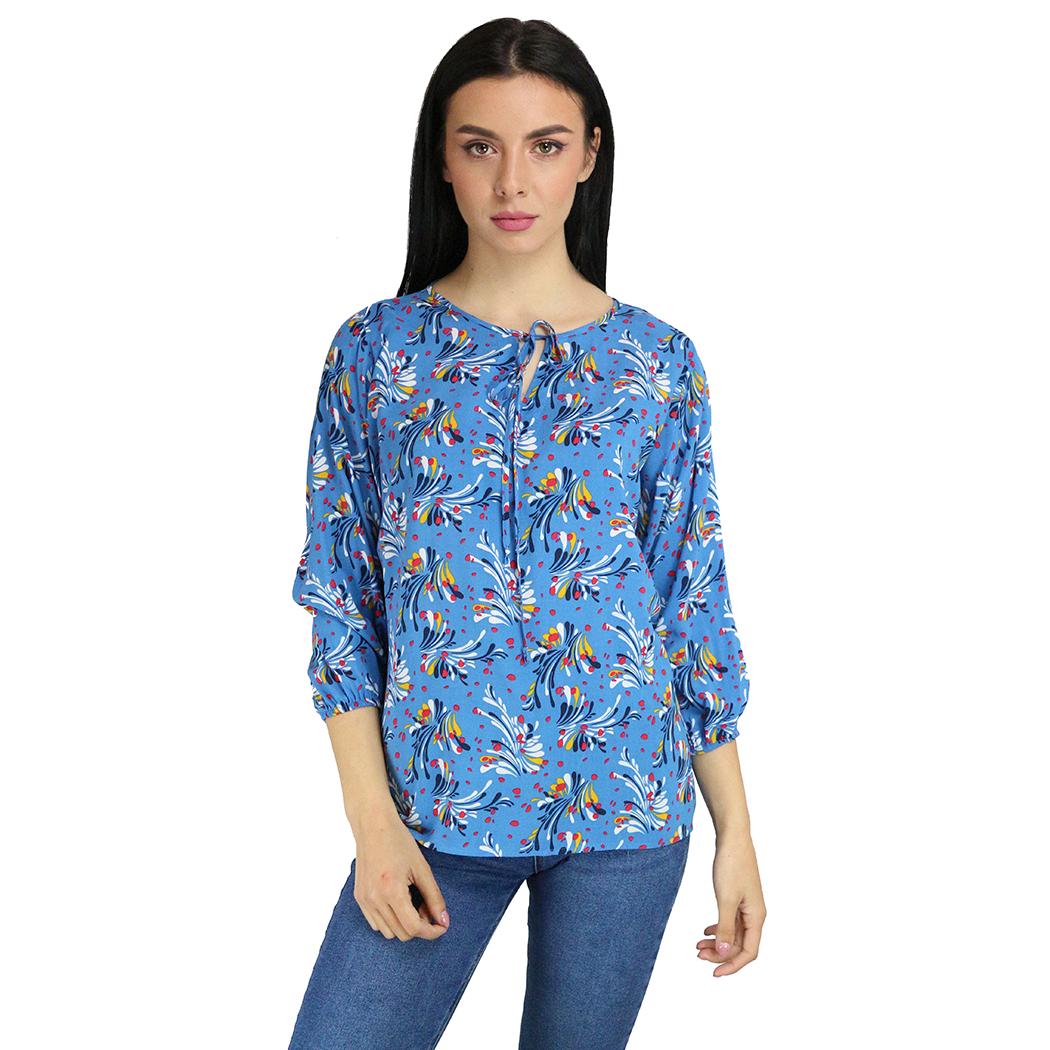 Bluză Anesia Print Multicolor