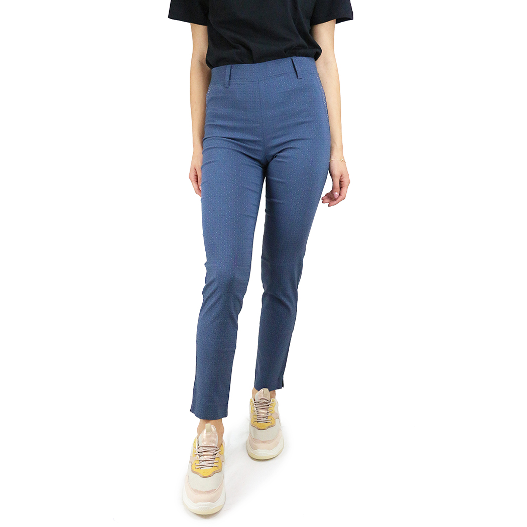 Pantaloni Virginia Blu Albaștri