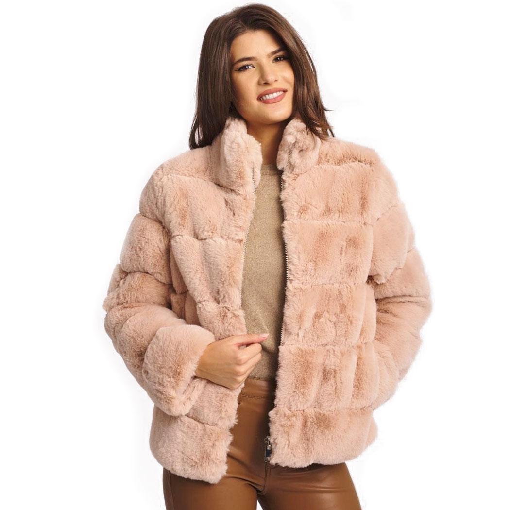 Jachetă Hermosa Bej