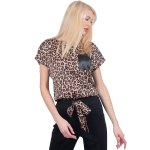 Bluză Caramel Print Leopard