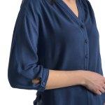 Bluză Hermosa Bleumarin