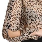 Bluză Hermosa Print Leopard