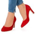 Pantofi Caprice Roșii