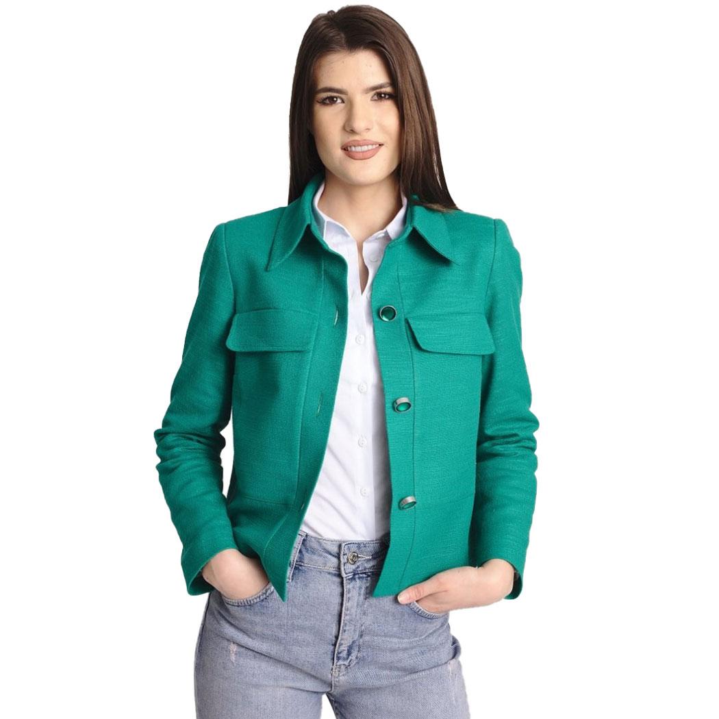 Jachetă Hermosa Galbenă