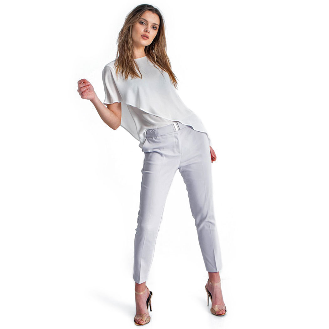 Pantaloni Hermosa Gri