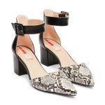 Pantofi s.Oliver Imprimeu Șarpe