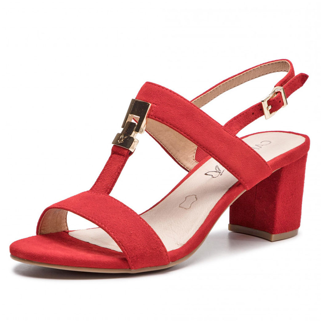 Sandale Caprice Roșii
