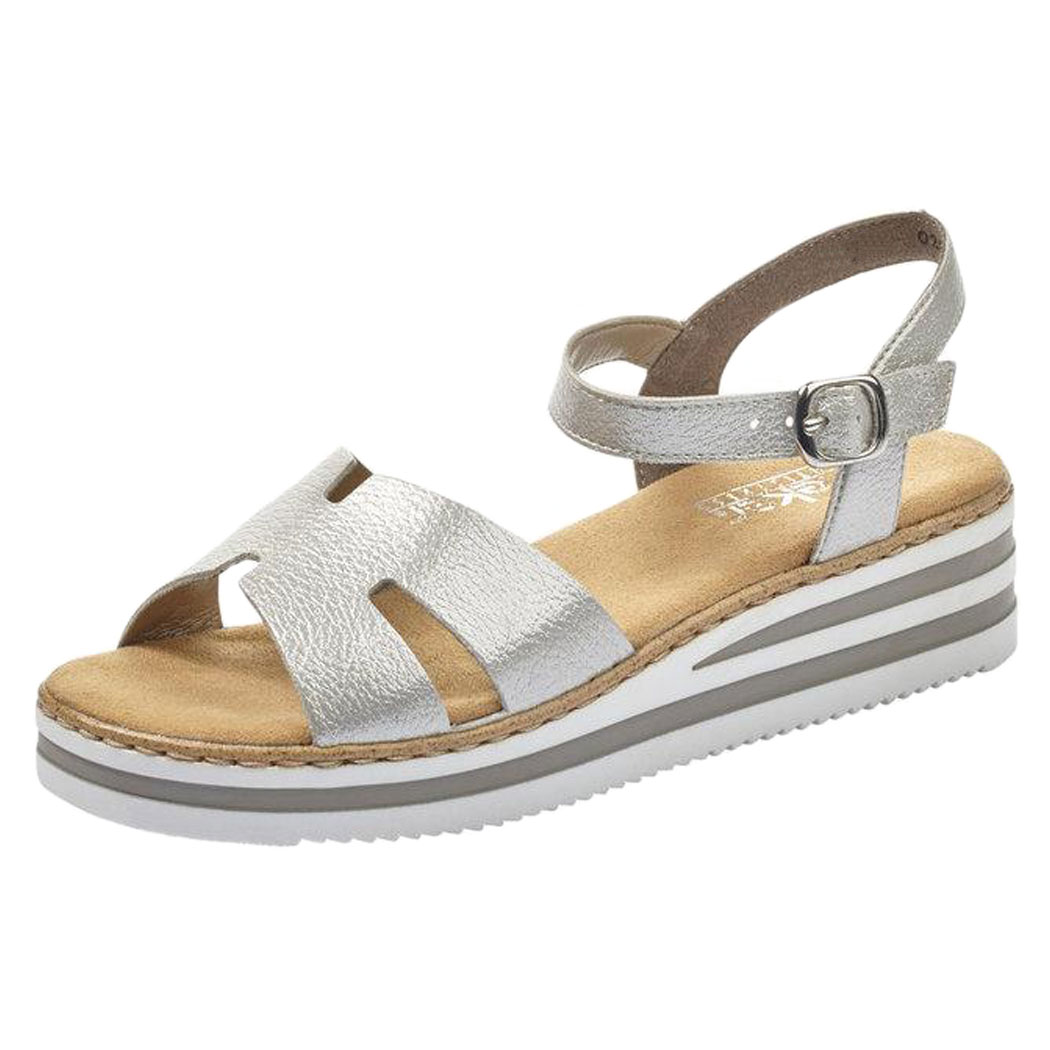 Sandale Rieker Argintii