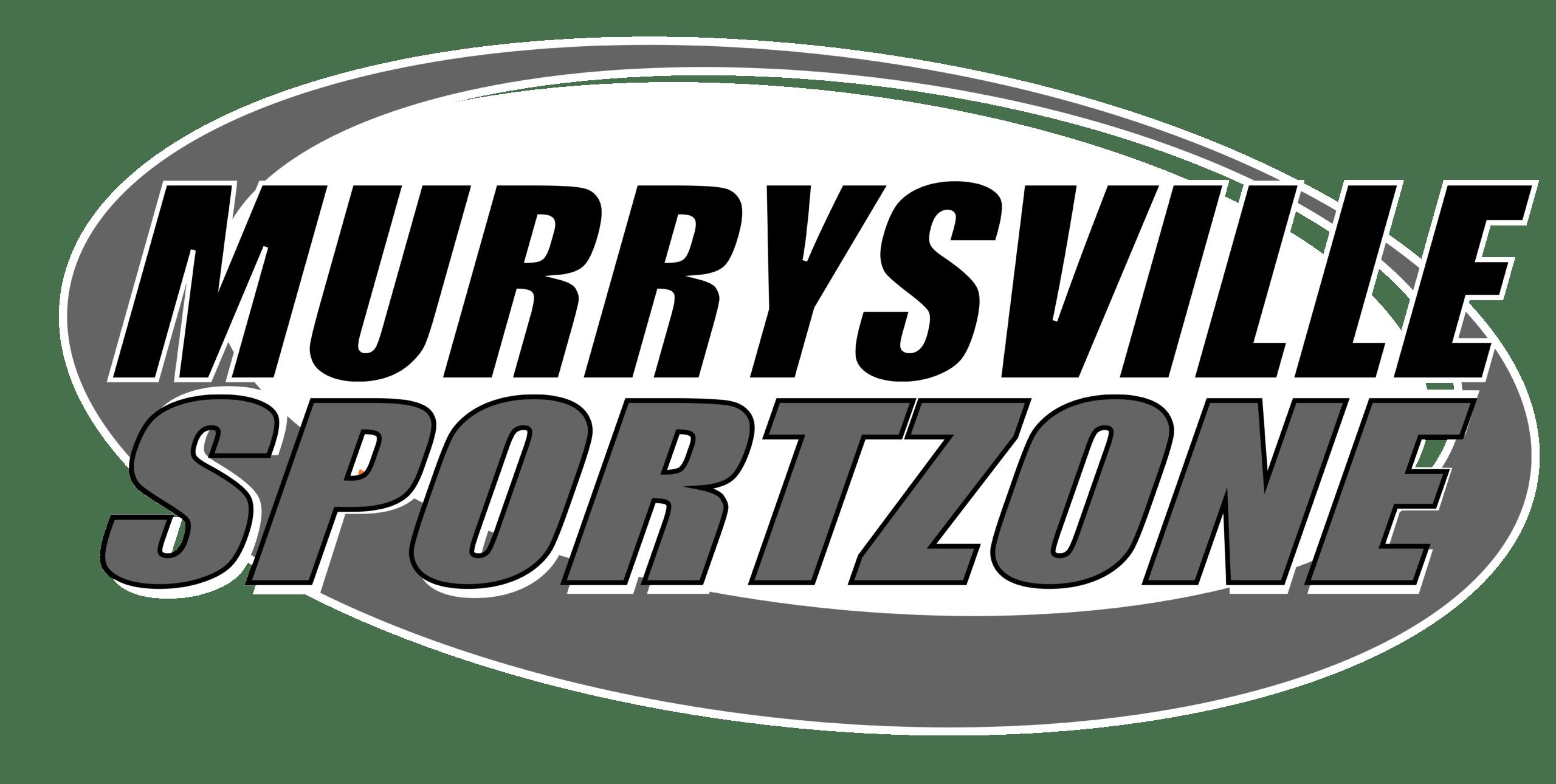 Murrysville SportZone Sports Dek Hockey Arena Logo Greyscale PNG