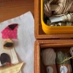 El canasto de lanas