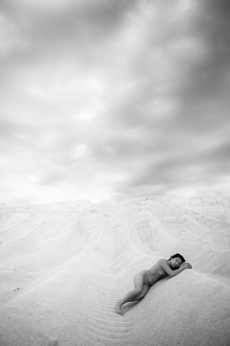 Nu  en extérieur - Jean-Marc Klein