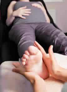 reflexology during pregnancy
