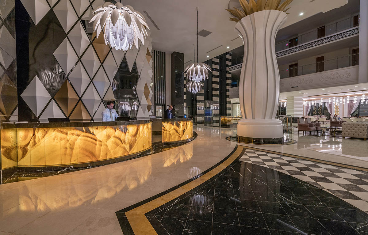 Marble & Stone, Foyers, Lobbies & Common areas