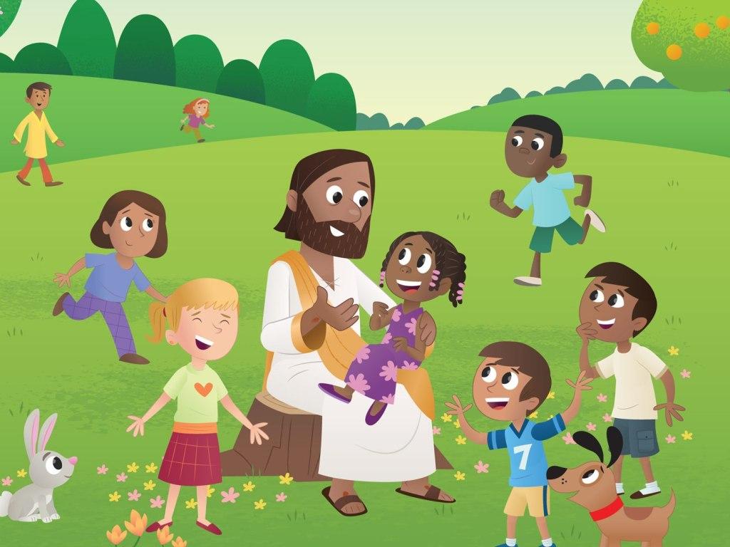 Jezus_gyerekek
